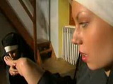 Lusty nuns get naked for lesbian sex xLx