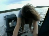 Naughty Amateur Teen Gets Fucked On Boat By Her Bf